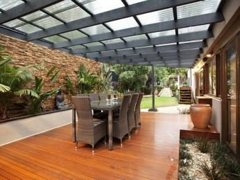 enclosed pergola - Google Search