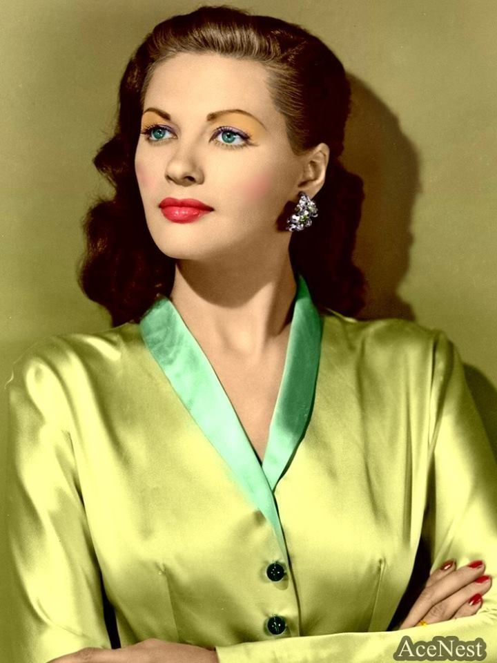 Yvonne De Carlo | Colorized Classic Hollywood | Pinterest ...