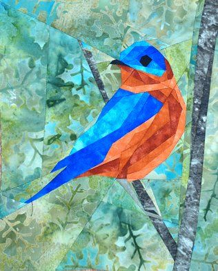 silver linings quilting pattern wee bluebird- amazing animal patterns