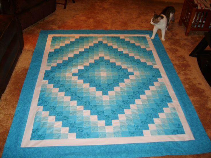 25 Best Ideas About Monochromatic Quilt On Pinterest