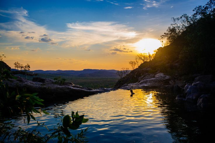 Gunlom (Waterfall Creek), Kakadu National Park, Tourism Australia