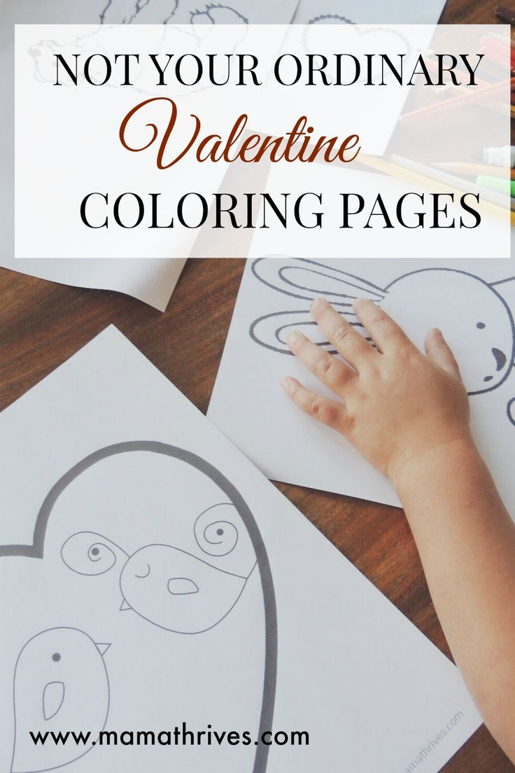 My daughter loves this collection of not-too-cutesy Valentine's day coloring pages. Best thing about them: they're free!