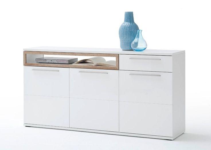 die besten 25 sideboard weiss ideen auf pinterest ikea konsolentisch snapchat gesichter und. Black Bedroom Furniture Sets. Home Design Ideas