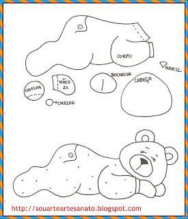 urso deitado