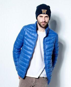 Nieuwe mannen donsjack opvouwbare ultra licht te dragen jas herfst winter parka buidel slanke s-3xl 5