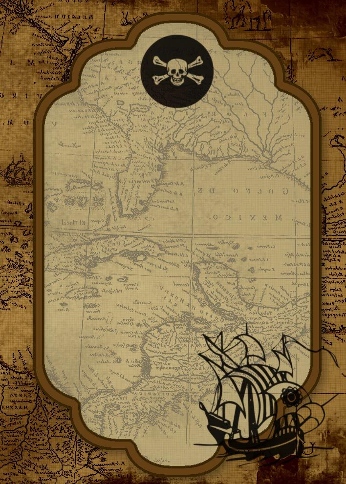 25+ best pirate party invitations ideas on pinterest | pirate, Party invitations