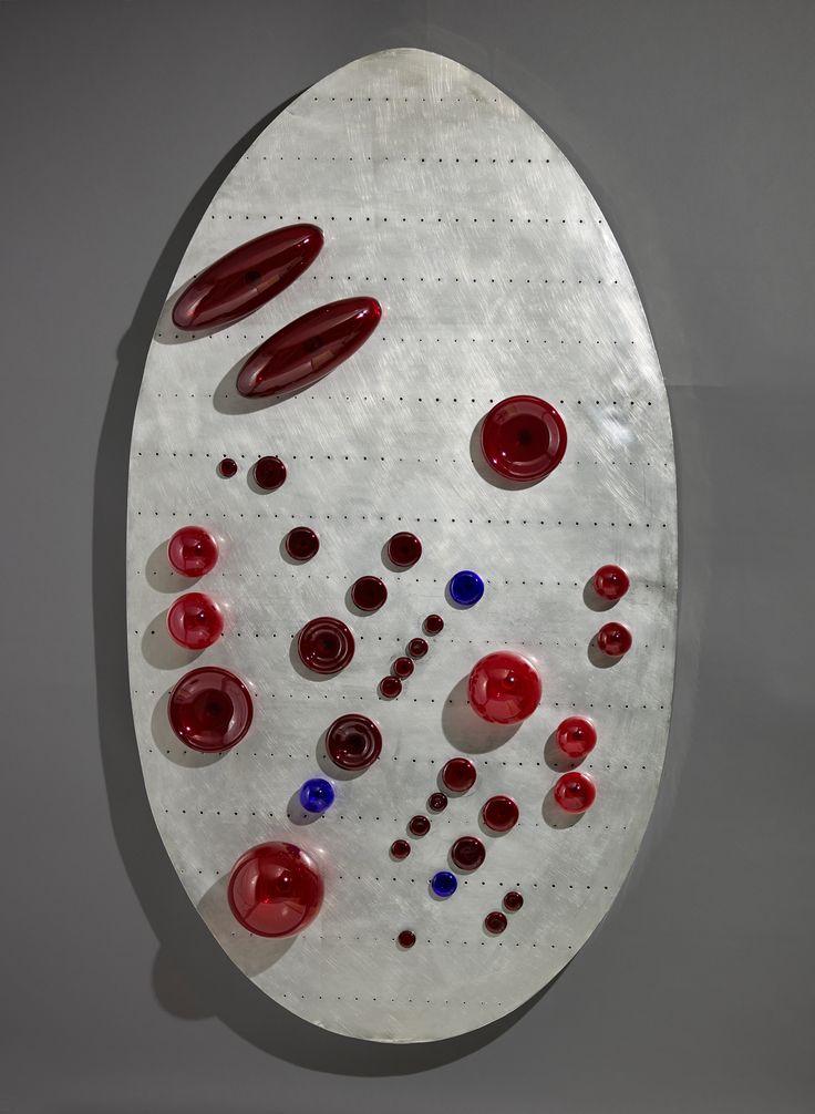 Concept Spatial Ovale Oeuvre créée en 1966 par Egidio Costantini et Lucio Fontana (c) Photo : François Fernandez