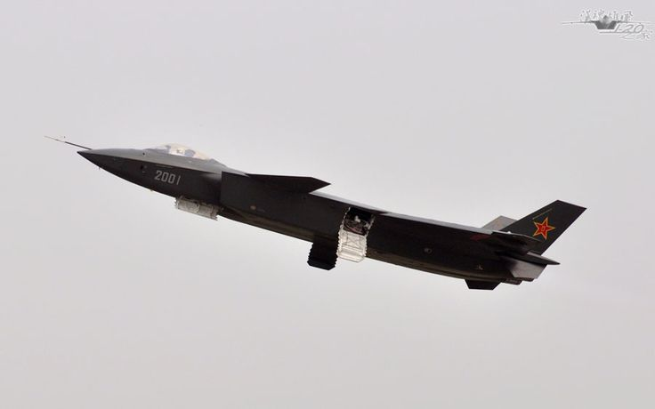 Editor's choice: Photos of China's stealth fighter J-20