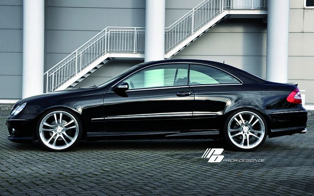 Prior Design Mercedes-Benz W209 CLK 430 55 AMG aerodynamic kit front rear sides | Flickr - Photo Sharing!