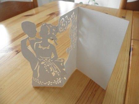Tutoriel pour un menu/carte kirigami
