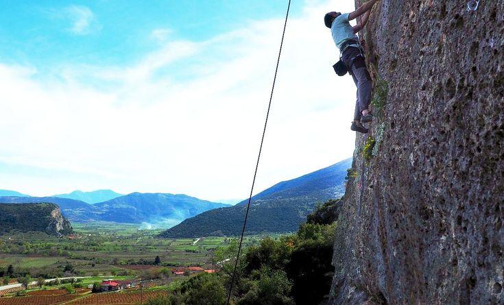 Alkyon Resort Hotel & Spa Lends Support to Frygani Rock Climbing.