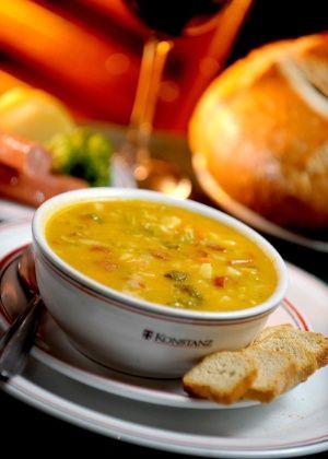 Sopa Alemã - Receita do restaurante Konstanz