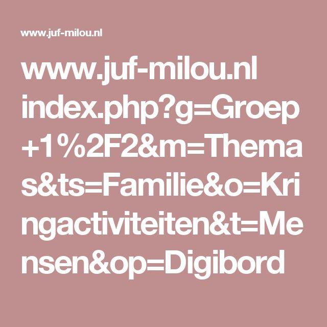 www.juf-milou.nl index.php?g=Groep+1%2F2&m=Themas&ts=Familie&o=Kringactiviteiten&t=Mensen&op=Digibord