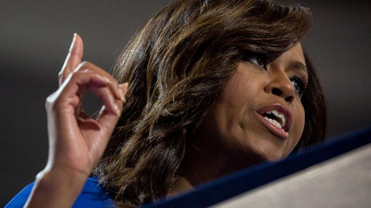 "Recently, Michelle Obama has had to step up to the plate to urge women to note vote for Donald Trump. As of late he was heard condoning sexual assault. Michelle in an interview said ""We're telling our sons that it's okay to humiliate women. We're telling our daughters that this is how they deserve to be treated,"" (Nelson, 1) Michelle's views on the topic have been fortified with societies feminist views. - Alexandra Steckler"