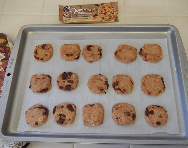 Weight Loss Surgery Snack Recipe: Quest Nutrition Protein Bars turned into Cookies