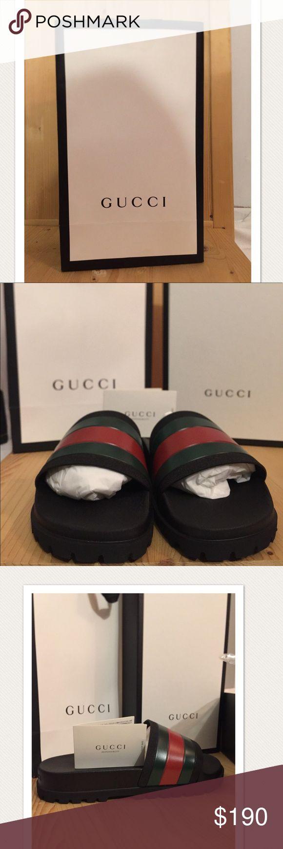 Men's Gucci shoes Men's Authentic Gucci shoes- new still in original box- price is firm Gucci Shoes Sandals & Flip-Flops
