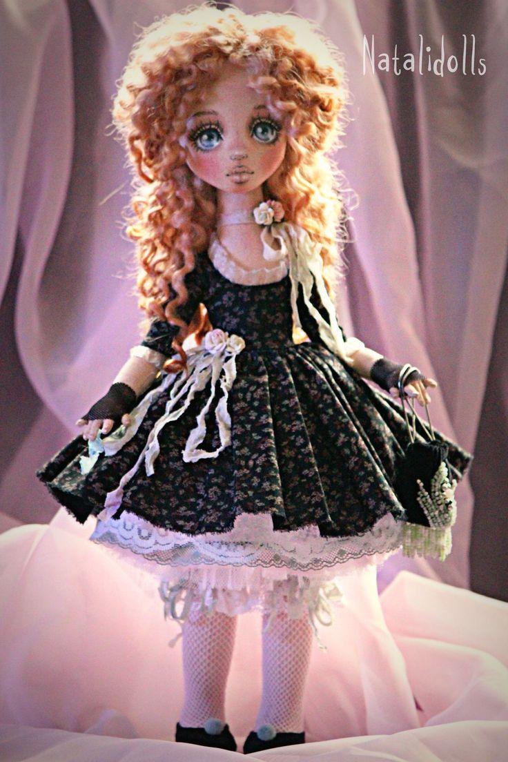 Авторская текстильная кукла Подкидышевой Натальи