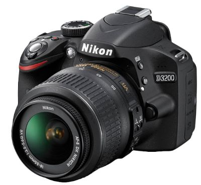 Nikon D3200 18-55 VR II Hitam Kamera DSLR | specification
