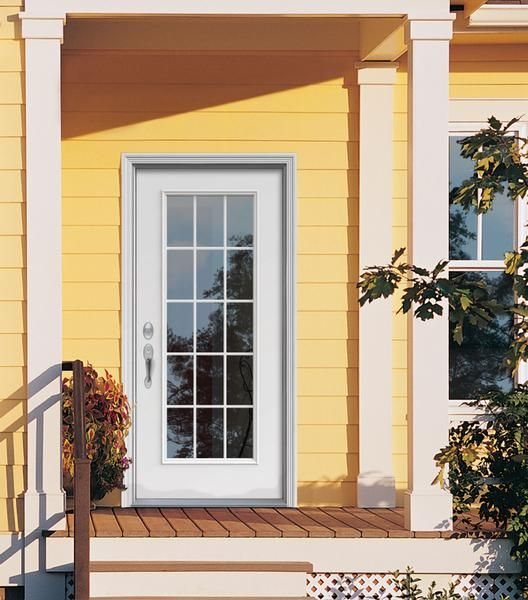 86 best images about jeld wen windows doors on pinterest for Entry door with side windows