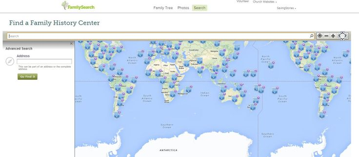Find a Family History Center https://familysearch.org/locations/centerlocator