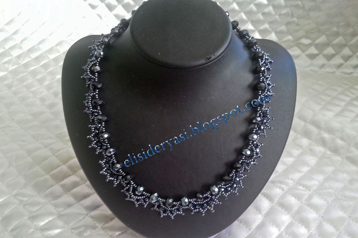 kristal kolye ~ EL İŞİ DERYASI