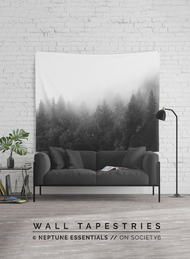 Into The Dark Wall Tapestry    Available in three distinct sizes, our Wall Tapestries are made of 100% lightweight polyester with hand-sewn finished edges. Featuring vivid colors and crisp lines, these highly unique and versatile tapestries are durable enough for both indoor and outdoor use. Machine washable for outdoor enthusiasts, with cold water on gentle cycle using mild detergent - tumble dry with low heat.