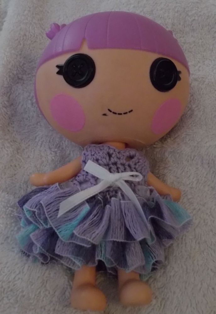 Lalaloopsy Little sister's dress Purple Dress