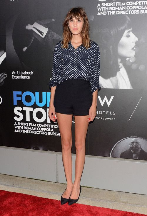 alexastyle:    Alexa Chung attends Roman Coppola, W Hotels + Intel Launch Innovative Film Series, Four Stories at W New York - Downtown on August 9, 2012 in New York City.