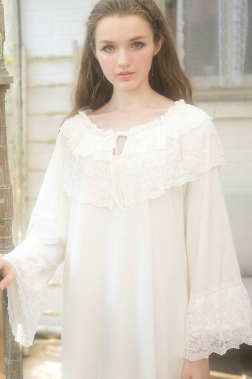 medieval+nightgown | Medieval Vintage Cotton Nightgown