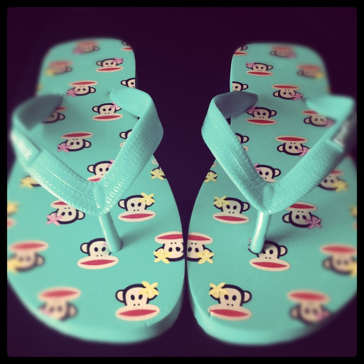 Sandals... by Paul Frank!