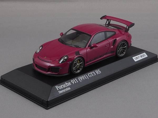 ポルシェ911/991 GT3 RS 2015紫1:43ミニチャンプスCA04316008_画像2