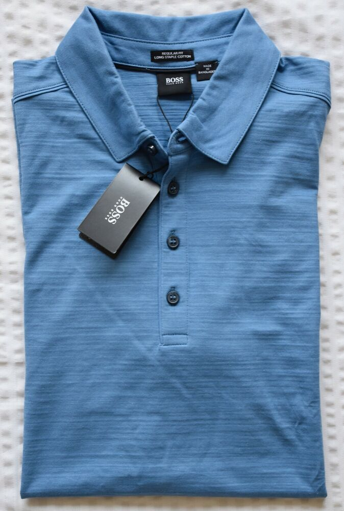 Hugo Boss Cotton Slim Fit Hooded Top In Blue Size Xl Brand New With Tags Herrenmode