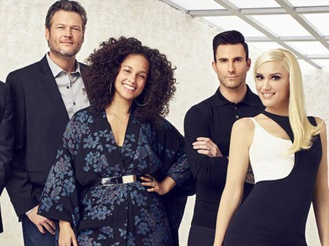 """When """"The Voice"""" coaches come together, it's a harmonious hodgepodge of pure magic."""