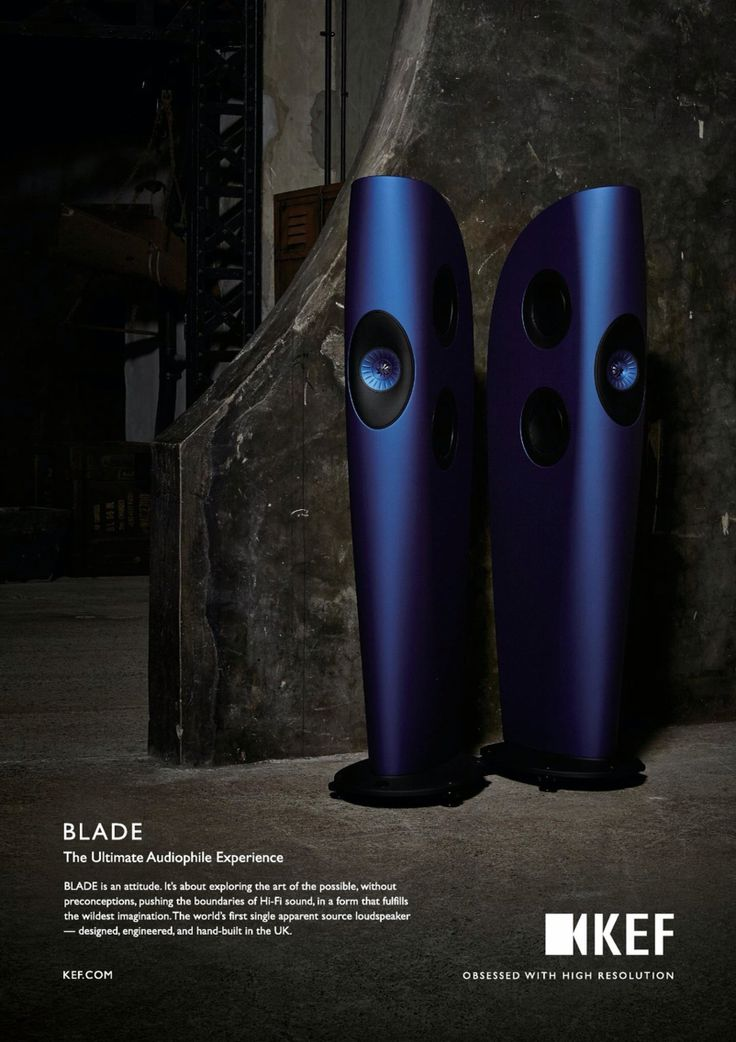'Blade is an attitude' #KEF  #BLADE #Attitude #UniQTechnology #UncompromisedInnovation #AttentionToDetail #TheFutureHasLanded #BroughtToYouBy #PROFX