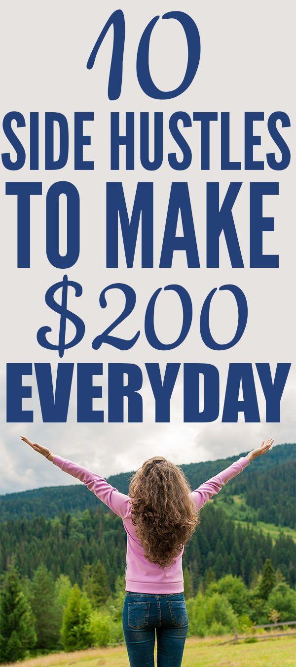 Machen Sie $ 200 schnell: 10 Side Hustles, um jeden Monat Geld zu verdienen