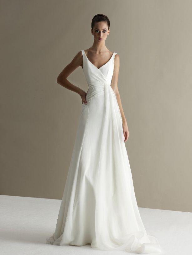 Best 25 Plain Wedding Dress Ideas Only On Pinterest