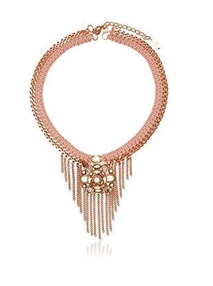 63% OFF LK Designs Rose-Tone Collar Necklace