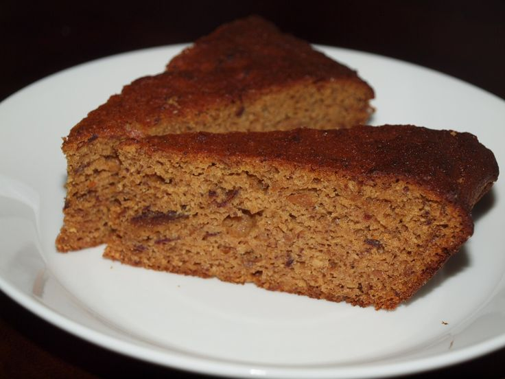 date cake without wheat flour + added sugar