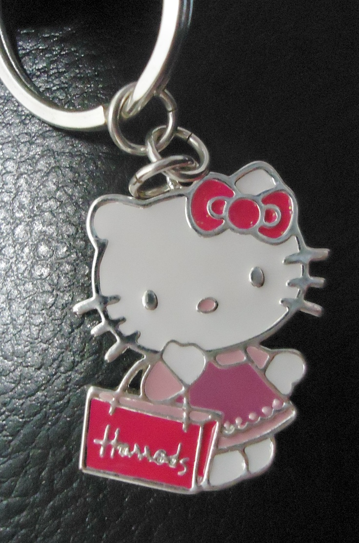Hello kitty shower curtain rings - Hello Kitty Keyring From Harrods
