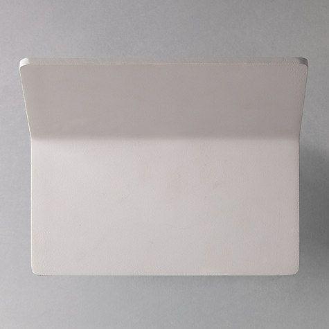 Buy John Lewis Fold LED Wash Wall Light, White Online at johnlewis.com