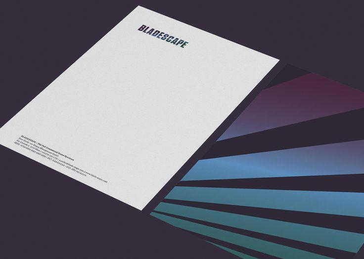 Bladescape- Briefpapier