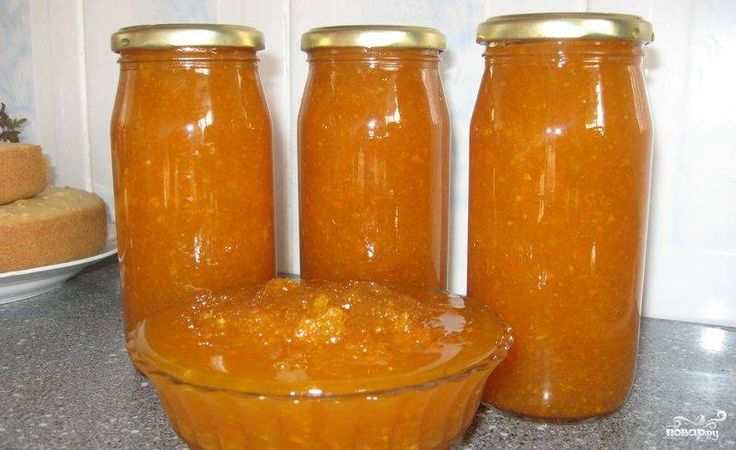 Варенье из тыквы с лимоном и апельсином (без варки)