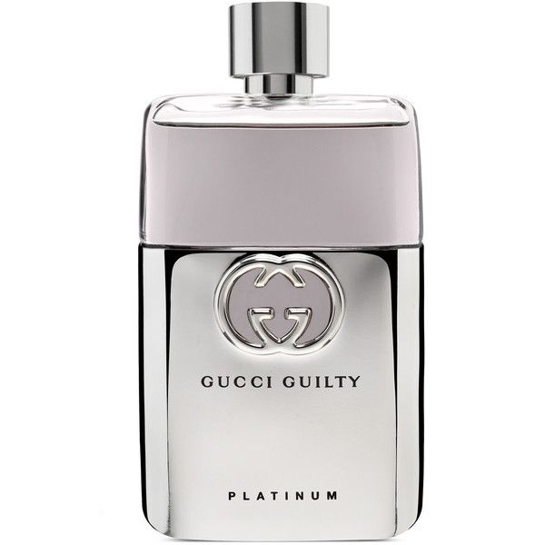 Gucci Guilty Platinum 90Ml Eau De Toilette ($80) ❤ liked on Polyvore featuring beauty products, fragrance, perfume, beauty, makeup, gucci guilty, men's fragrances, gucci fragrance, gucci and parfum fragrance