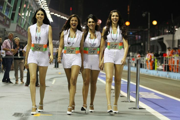 how to become a f1 grid girl