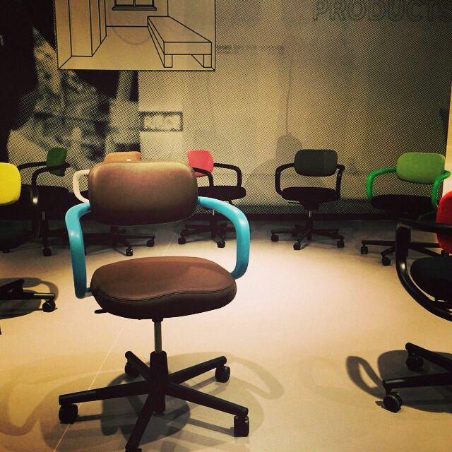 Leuke bureaustoelen van Vitra!