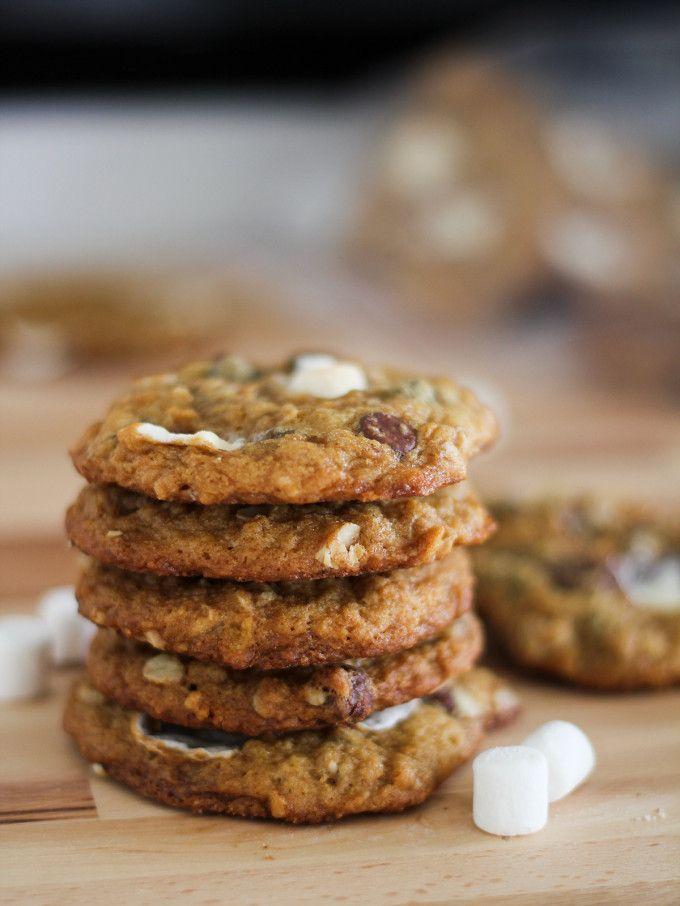 Momofuku Cornflake Marshmallow (Chocolate Chip and Oatmeal) Cookies