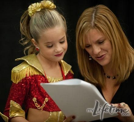 Dance Moms Season 2 Photos- Melissa and Mackenzie