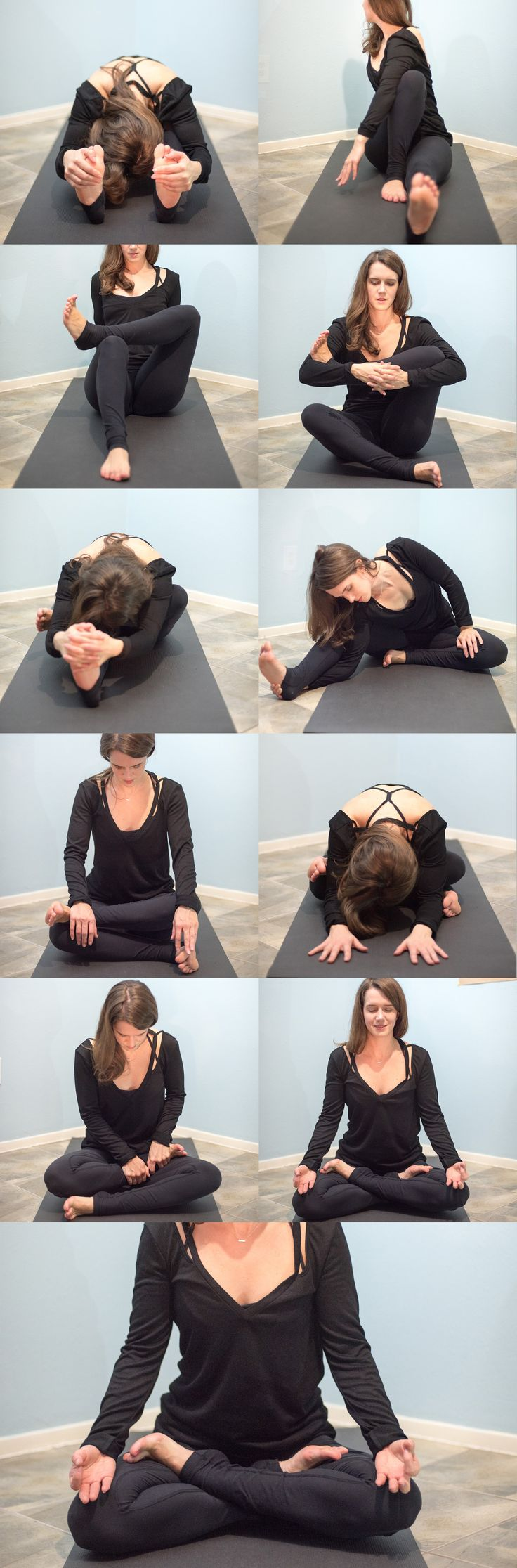 Yoga: How to get into lotus pose #yoga #loveandalliscoming #yogaeverydamnday