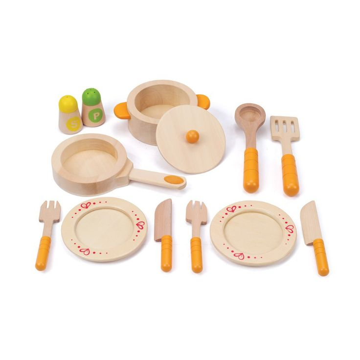 Beautiful hape wooden tea set with cuisine dinette pas cher for Maxi cuisine macaron janod
