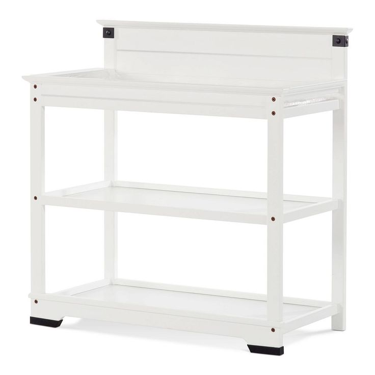 Child Craft Redmond Dressing Table/Twin Bed Headboard, White